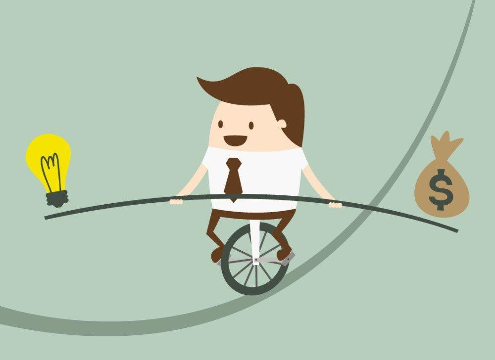 Planen Sie sorgfältig und im richtigen Gleichgewicht. (Bild: Dooder / Shutterstock.com)