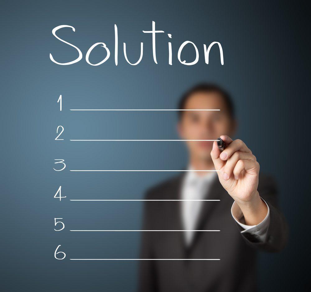 Zeigen Sie Ihre tatsächliche Lösung. (Bild: Dusit / Shutterstock.com)