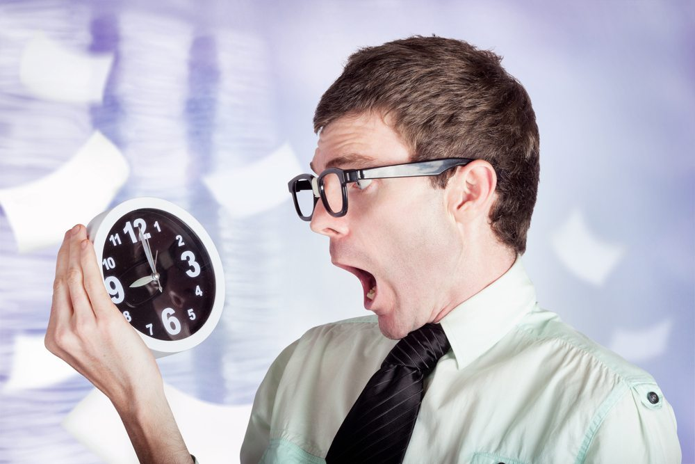 Wenn Sie von der Organisation Ihres Events bereits überfordert sind und im Stress ertrinken, wird sich das auch auf die Veranstaltung auswirken. (Bild: Ryan Jorgensen - Jorgo / Shutterstock.com)