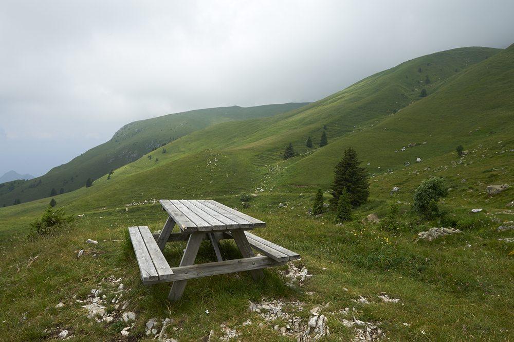 Der richtige Platz für das Picknick oder das Barbecue ist immer dort, wo Sie sich am wohlsten fühlen. (Bild: m.bonotto / Shutterstock.com)