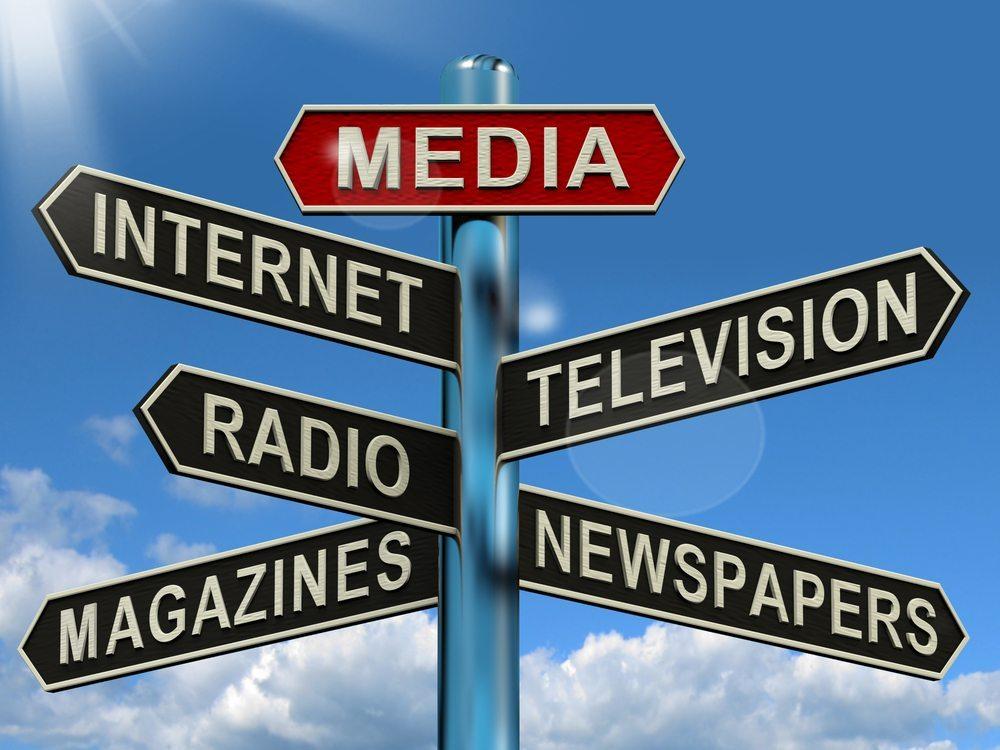 Werbung im Radio, TV oder über Plakate. (Bild: Stuart Miles / Shutterstock.com)