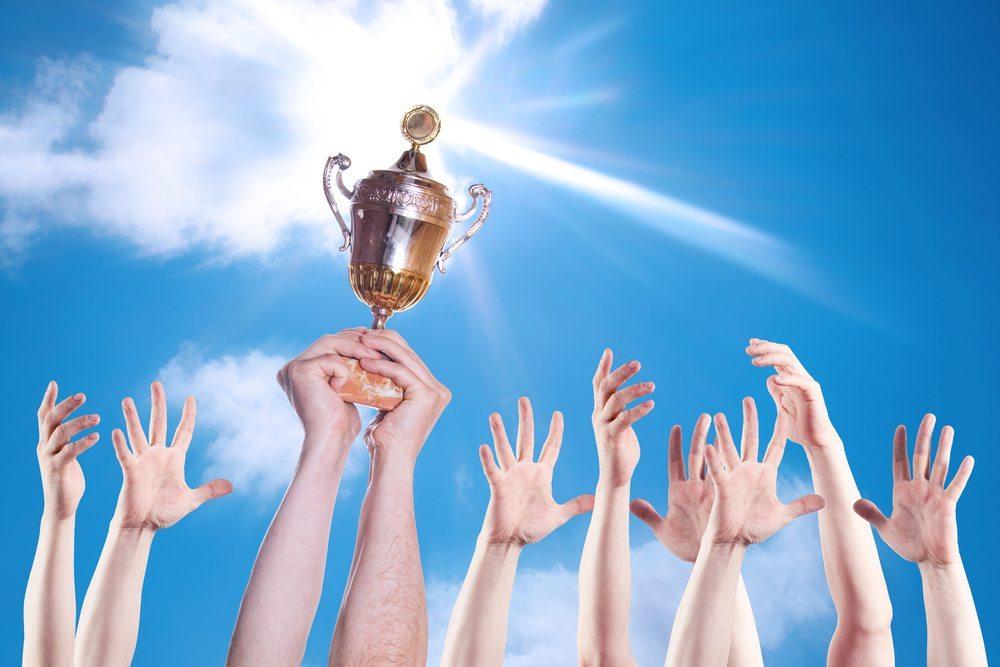 Preisverleihungen und Siegerehrungen. (Bild: Vorat / Shutterstock.com)