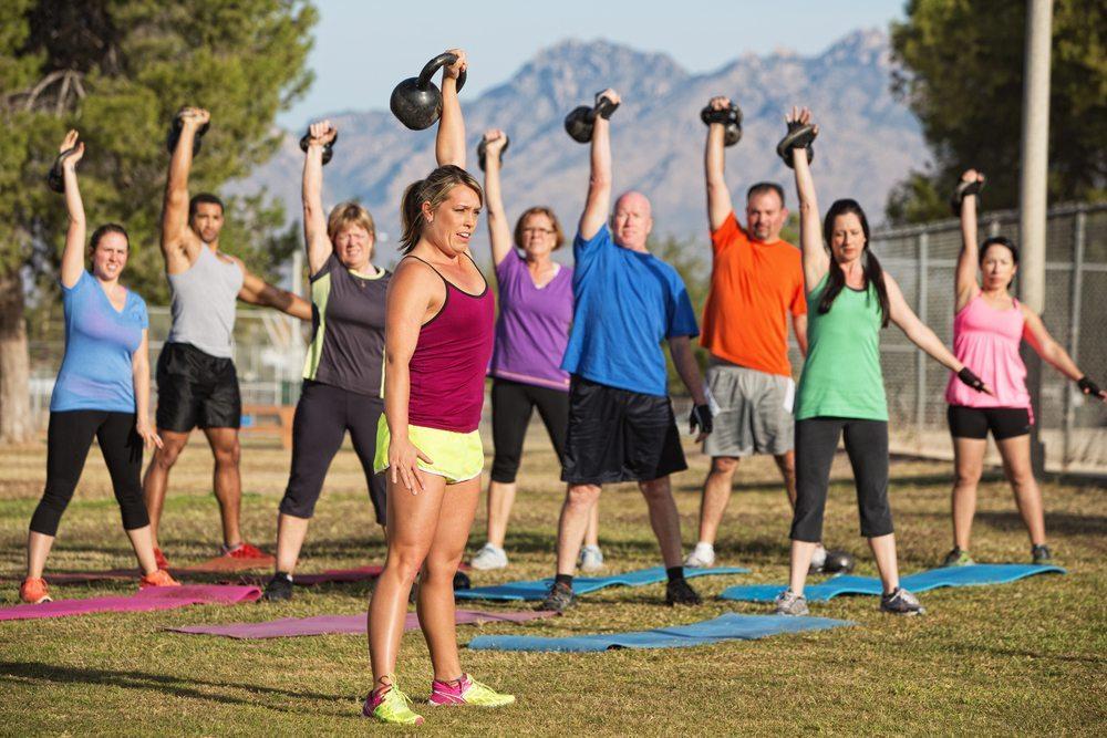 Outdoor-Training mit Event-Bezug. (Bild: CREATISTA / Shutterstock.com)