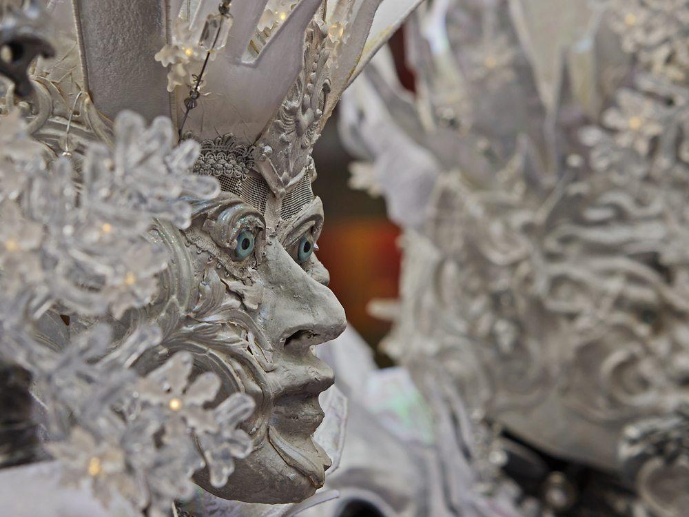 Schnee Fee - Fasnacht Maske (Bild: © scubaluna - shutterstock.com)