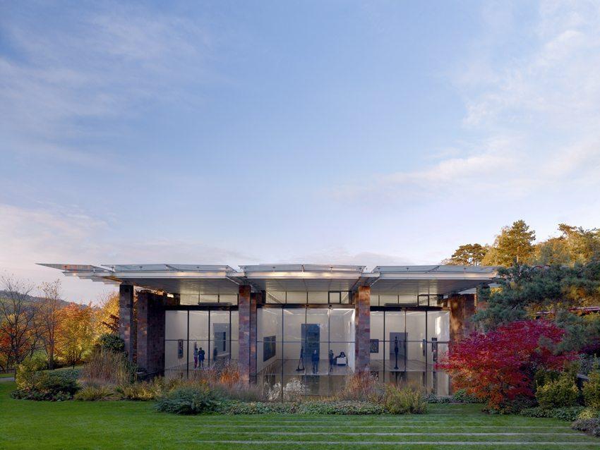 Fondation Beyeler, erbaut von Renzo Piano. (Bild: © Fondation Beyeler 2014, Switzerland Fotograf: Mark Niedermann)