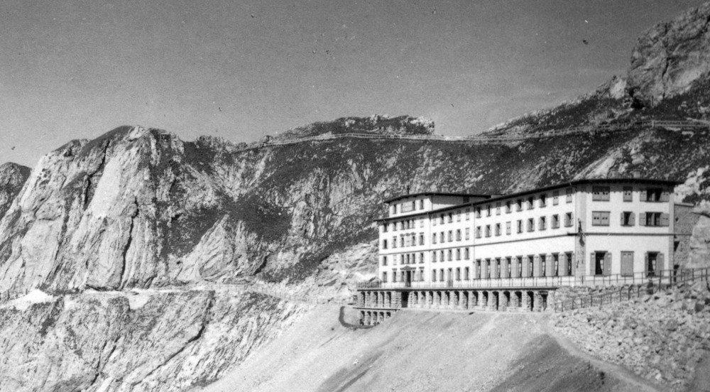 125 Jahres ist es alt - das ehrwürdige Hotel Pilatus-Kulm. (Bild: © pantarhei.ch)