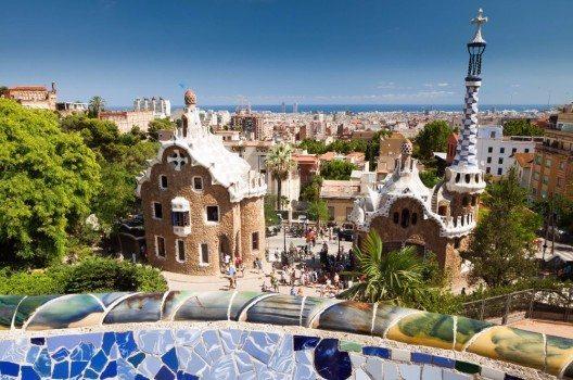 Der Park Güell gehört zu den wichtigsten Wahrzeichen Barcelonas.