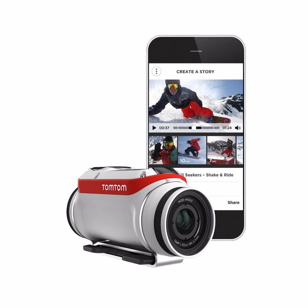 TomTom hat am 29. April die brandneue TomTom Bandit Action Kamera vorgestellt. (Bild: © tomtom.com)