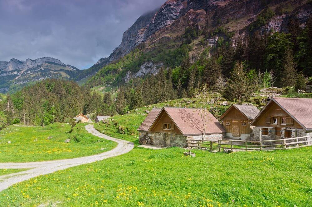 Das schöne Appenzellerland (Bild: © Sabine Klein - fotolia.com)