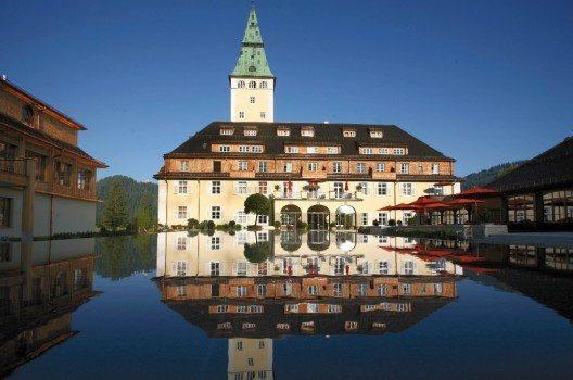 Schloss Elmau in Bayern (Bild: © Schloss Elmau - CC BY-SA 3.0)