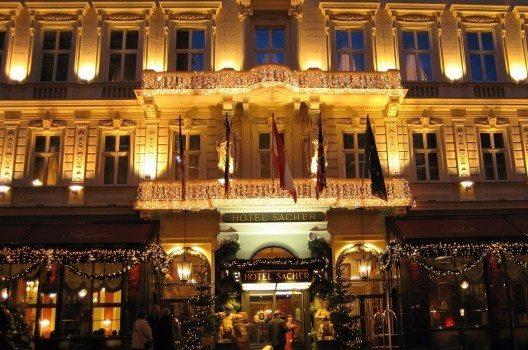 Das Hotel Sacher (Bild: © kodiak - CC BY-SA 3.0)