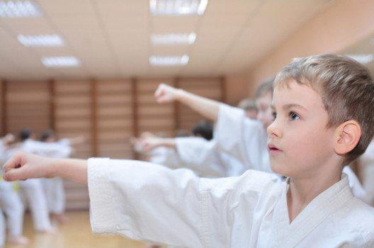 Karate ist eine sehr beliebte Sportart bei Kindern. (Bild: Pavel L Photo and Video – shutterstock.com)