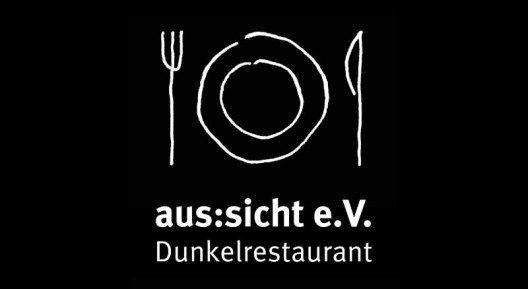 Der gemeinnützige Verein aus:sicht e. V. fördert Arbeitsplätze in den Dunkelrestaurants an den Standorten Stuttgart (Rosenau) und Esslingen (Reichsstadt).
