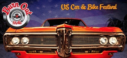 feature post image for Burn Out Mollis US Car & Bike Festival: spektakuläre Autos und Motorräder, rockiger Roadhouse-Sound