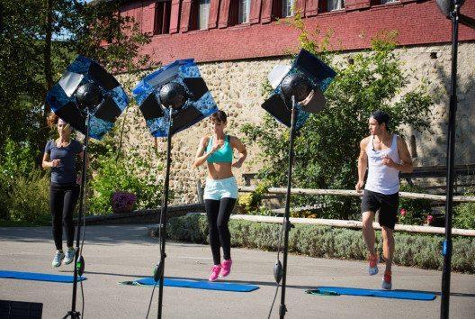 Neues Fitnessprogramm von Anita Buri (Bild: Elin Anderegg)