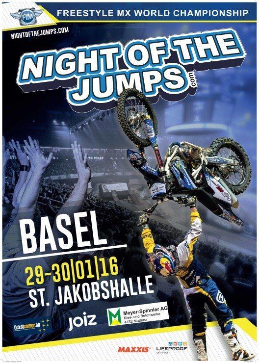 NIGHT of the JUMPs – die extremste FMX Serie der Welt