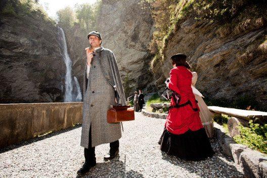 Sherlock Holmes, Reichenbachfall (Bild: David Birri)