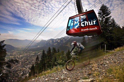 Als Partner mit dabei sind die Bergbahnen Chur.