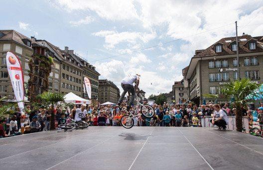 Im Rahmen von MoveCity 2016 erwartet sportbegeisterte Schweizer ein mitreissendes Programm (Bild: MoveCity)