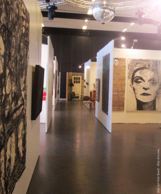 Der Rhypark wird auch im Juni 2016 wieder zum Anziehungspunkt für Kunstliebhaber. (Bild: Rhy Art Fair Basel, www.rhy-art.com)