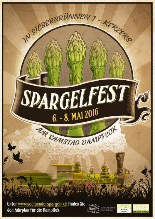 Spargelfests findet vom 6. – 8. Mai 2016 in Kerzers statt(Bild: Murten Tourismus)