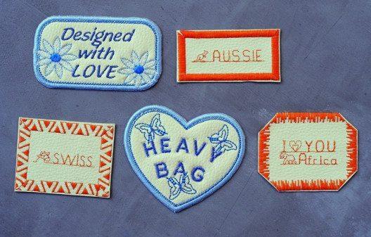 Kleine Stickereien hinterlassen eine persönliche Note und attraktive Wirkung. (Bild: BERNINA)