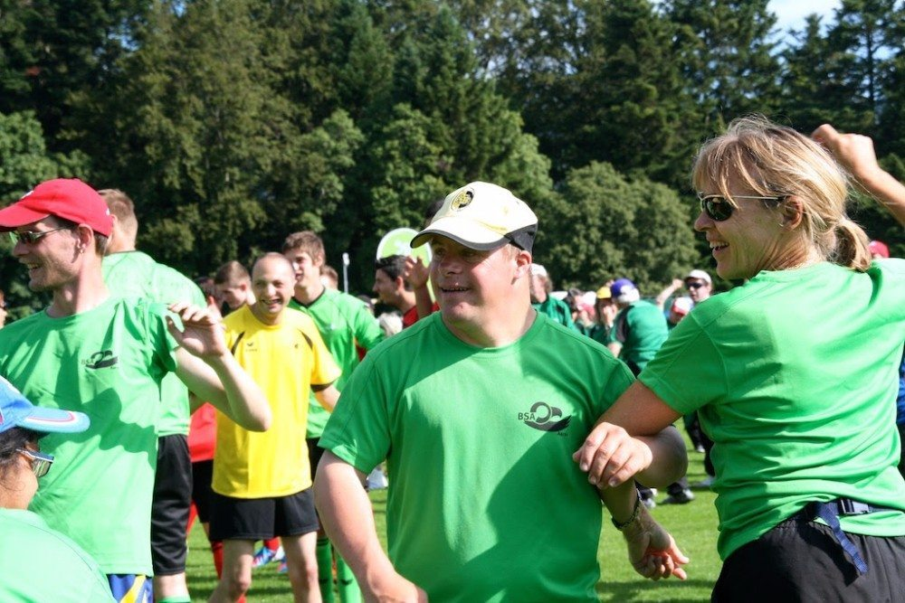Sport kann auch mit einem Handicap enorm viel Spass machen.
