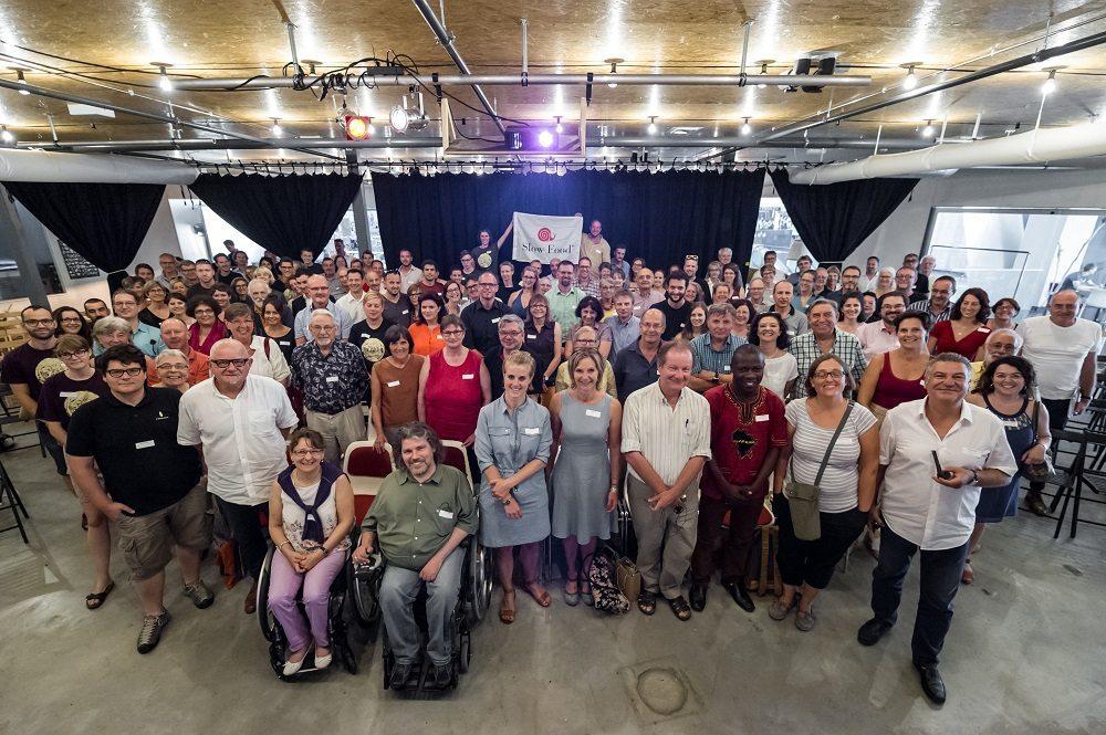 """Zu dem Symposium """"A Tavola!"""" erschienen etwa 200 Personen."""