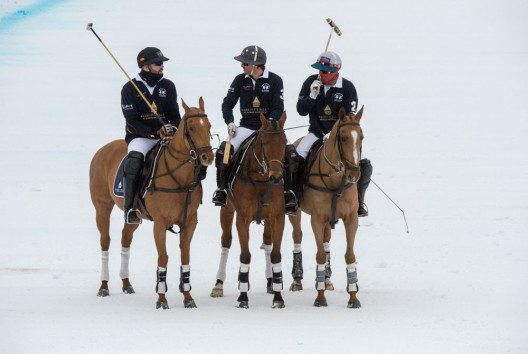 Snow Polo Turnier (Bild: Badrutt's Palace Hotel)