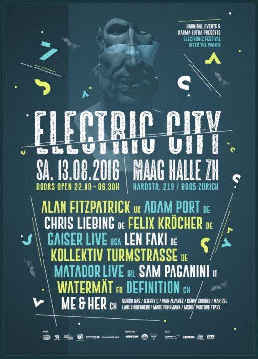 """Electric City"" für Techno-Fans (Bild: Hannibal Events)"