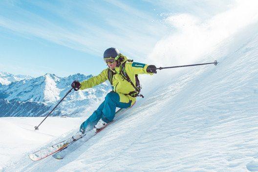 Schneesicherheit von November bis Mai ist in der Silvretta Arena Ischgl garantiert. (Bild: © Peter Hauser)