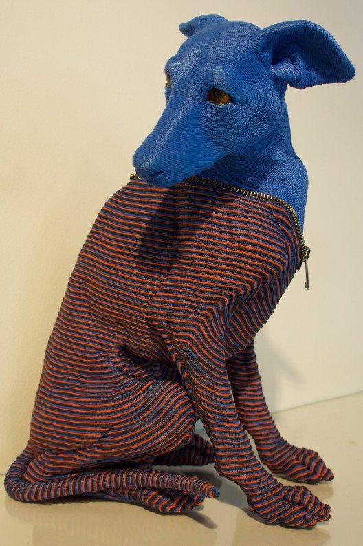 Art'in Gstaad Gallery, Mozart Guerra: Zipper, Résine polyuréthane sculptée, 50x35x23cm, 2016 (© Contemporary Art Fair Zurich, Art'in Gstaad Gallery, Mozart Guerra, www.art-zurich.com)