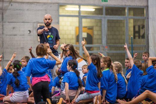 Die Initiative Fitness for Kids von Franco Carlotto feiert zehnjähriges Jubiläum. (Bild: © Fitness for Kids)