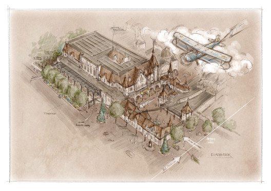 """Das """"Flying Theater"""" gibt den Besuchern einen Eindruck vom Fliegen. (Bild: © Bernhard Rein und Europa-Park)"""