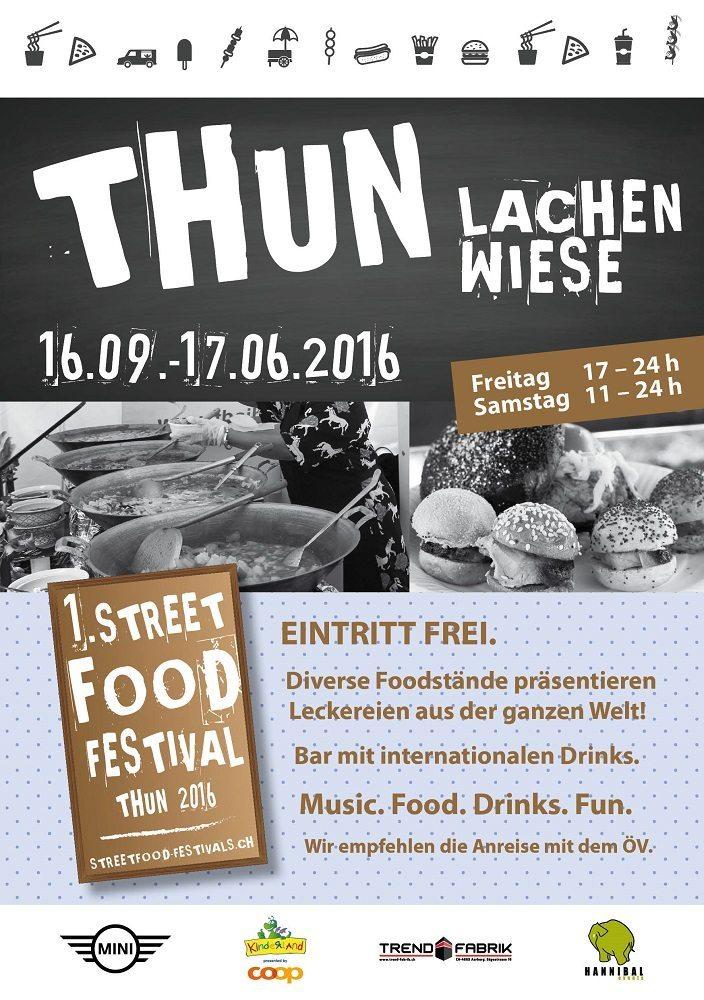 Street Food Festival auf der Lachenwiese