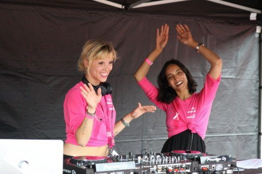DJ Odile und Racha