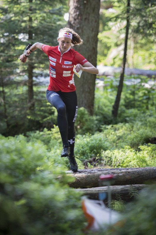 Auch die WM-Zweite Judith Wyder wird beim Red Bull Alpitude in Arosa am Start sein.