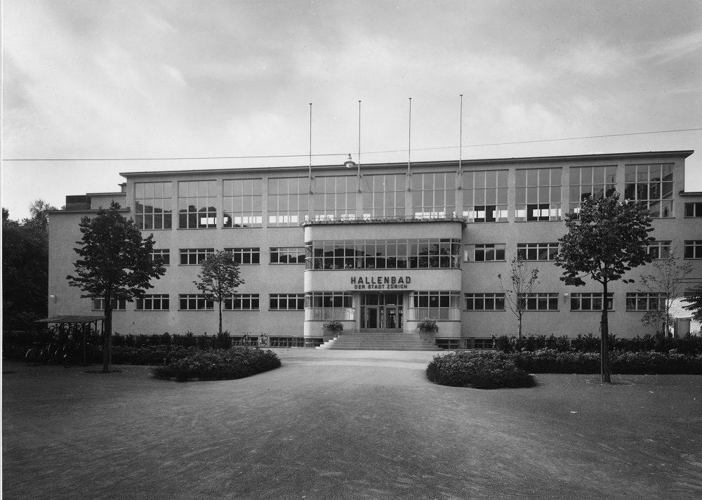 1941 war es soweit: das Hallenbad City öffnete seine Tore.