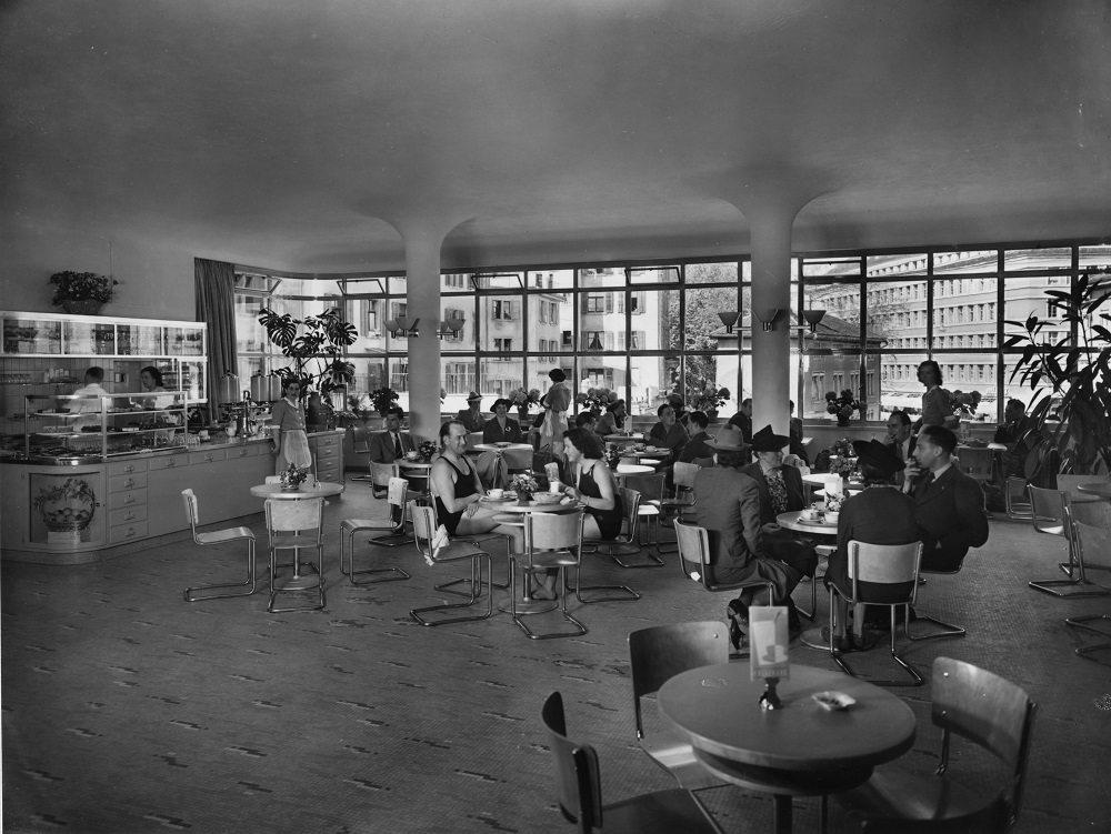 Vor 75 Jahren gab es im heutigen Salle Blanche ein kleines Restaurant.
