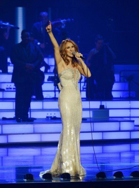Zum 1000. Auftrittsjubiläum gab Céline Dion eine hinreissende Show. (Bild: © Caesars Entertainment)