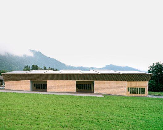 Werkhalle Walter Küng AG (Bild: © Rasmus Norlander, Zürich/Prix Lignum 2015)