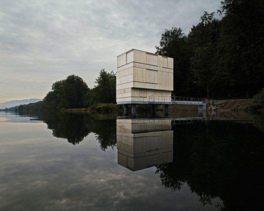 Zielturm Rotsee (Bild: © Valentin Jeck/Prix Lignum 2015)