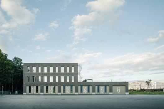 Rettungsdienst und Kantonale Notrufzentrale, Bern (Bild: © Dominique Marc Wehrli/Prix Lignum 2015)