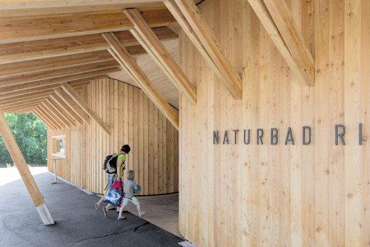 Naturbad Riehen (Bild: © Michael Bär/Prix Lignum 2015)