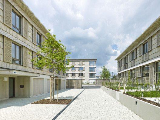 Quartier Neugrüen Mellingen (Bild: © Jürg Zimmermann, Zürich/Prix Lignum 2015)
