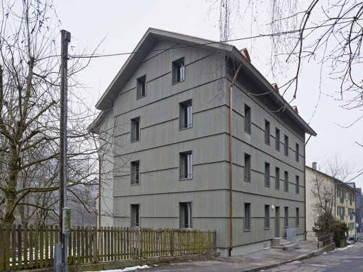 Wohnhaus Jurastrasse 59 Bern (Bild: © Rolf Siegenthaler/Prix Lignum 2015)