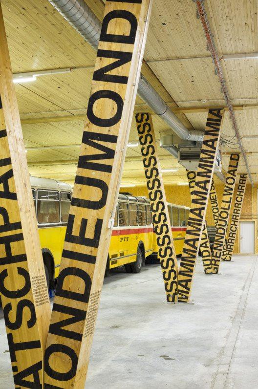 Depot Museum für Kommunikation - 3150 Schwarzenburg - 2013 (Bild: © Ralph Hut, Zürich/Prix Lignum 2015)
