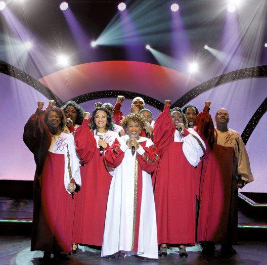 """Queen Esther Marrow und The Harlem Gospel Singers gastieren bei den Proben zum Auftakt ihrer """"Touching Spirit""""-Europa Tournee (Bild: © Thomas Brill)"""