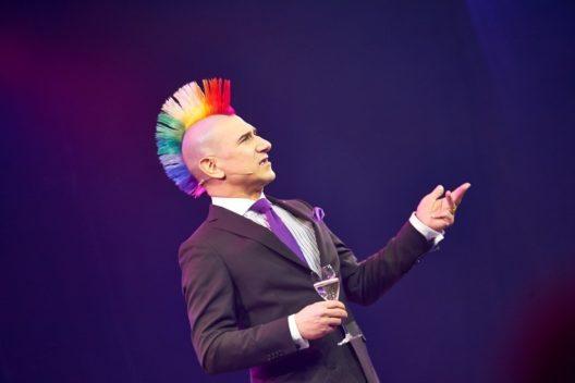 Andreas Thiel in der Jubiläumsshow