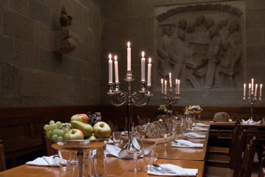 Rittertafel im Rathauskeller